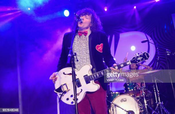 Beach Slang performs onstage during Pandora SXSW 2018 on March 15 2018 in Austin Texas