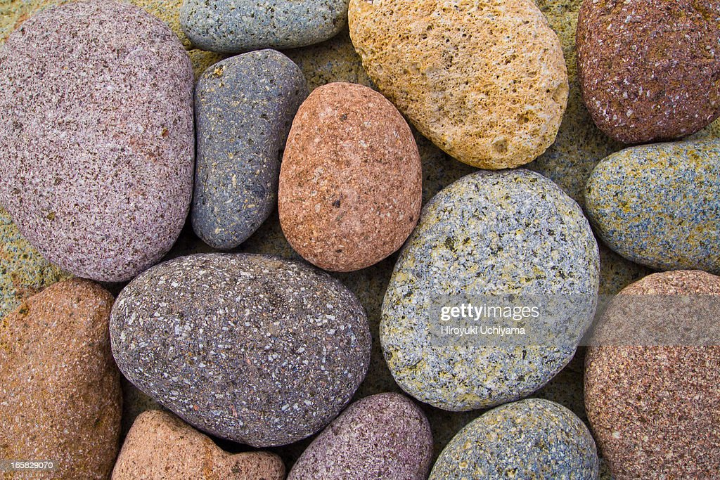 beach stone collection : Stock Photo