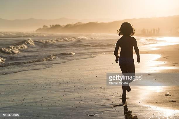 Beach summer fun till sunset