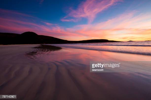 Beach sunset, Cape Le Grand National Park, Esperance, Western Australia, Australia