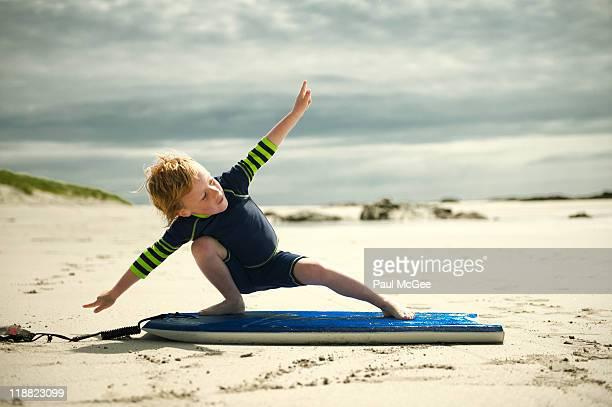 Beach surfing