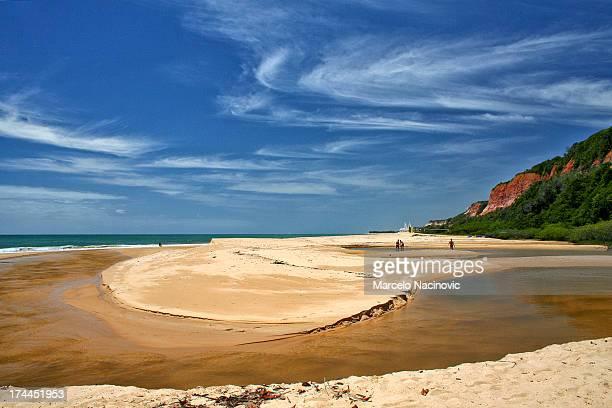 beach taípe between trancoso and ajuda - trancoso imagens e fotografias de stock
