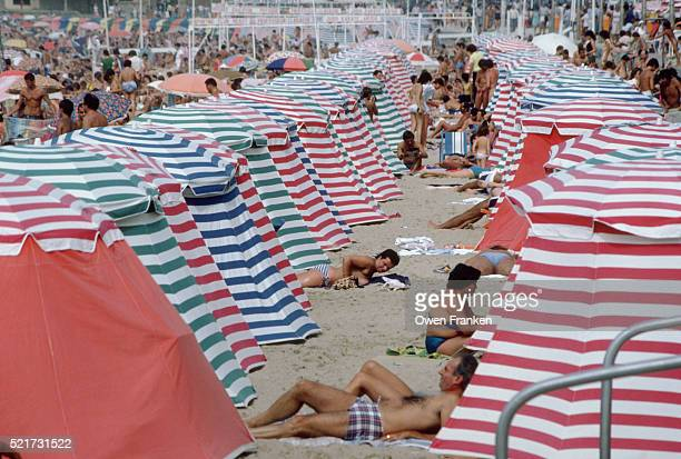 Beach Tents in Deauville