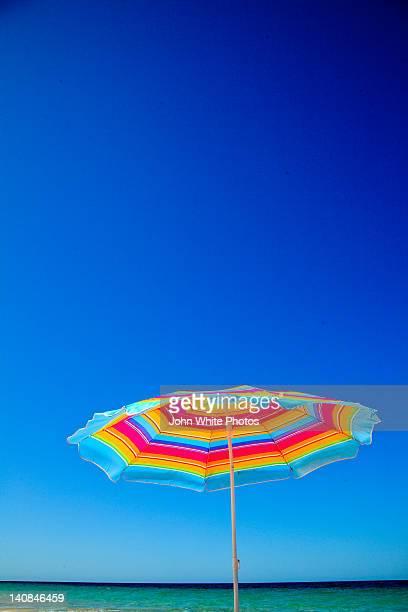 Beach umbrella at beach