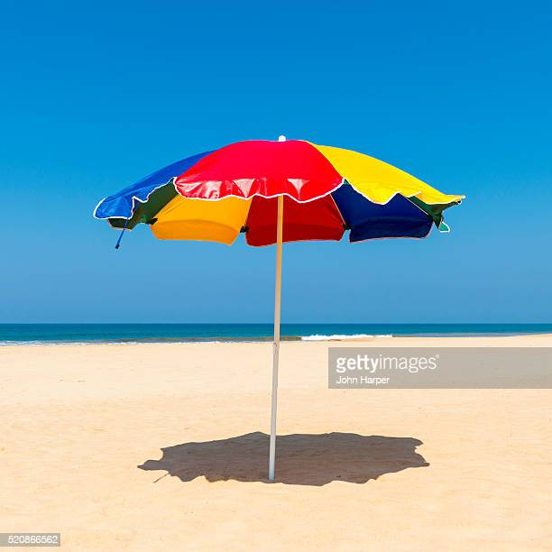 Beach Umbrella, Benota Beach, Sri Lanka