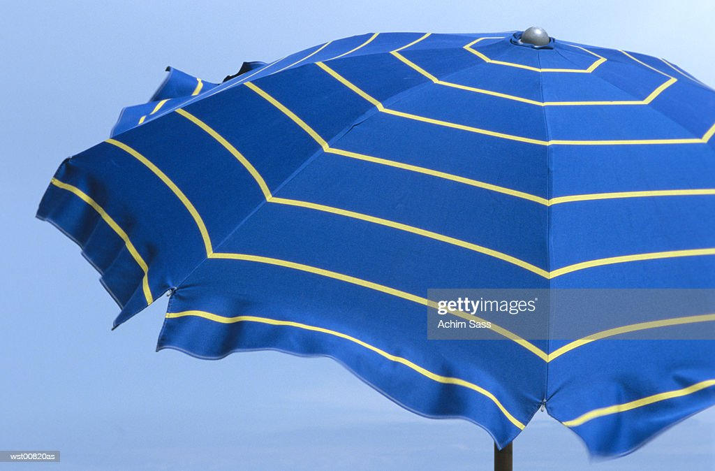 Beach umbrella, close up : Foto stock