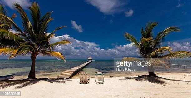 Beach view, Caye Caulker