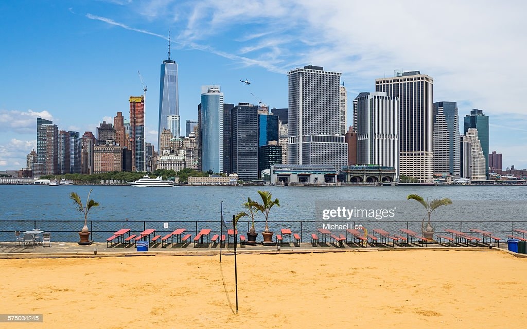 Beach View From Governors Island New York Stock Photo Getty Images - Governors of new york