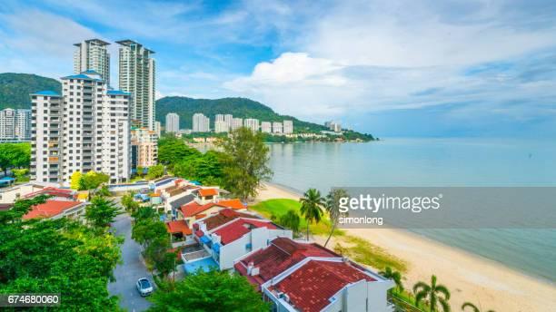 Beach View of Tanjung Bungah, Penang