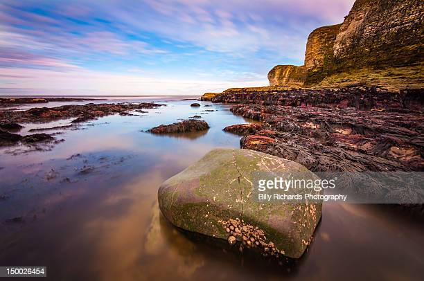 beach view - bridlington stock pictures, royalty-free photos & images