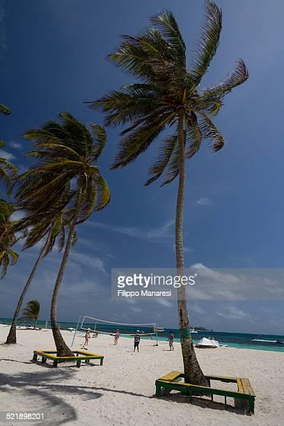 Beach volley in San Andrés