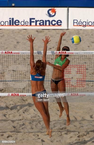 TALITA Beach Volley Swatch FIVB World Tour 2005 Tournoi Paris Grand Chelem Champ de Mars