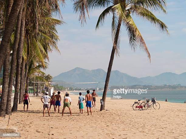 Beach Volleyball, Nha Trang, Vietnam