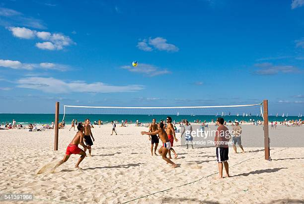 Beach Volleyball on Jumeriah Beach Park