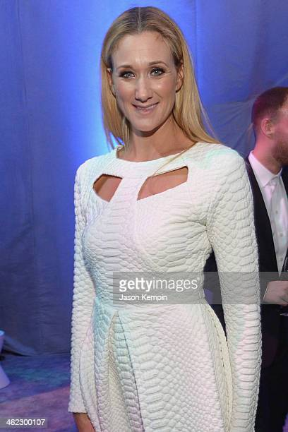 Beach volleyball player Kerri Walsh Jennings attends the Universal NBC Focus Features E sponsored by Chrysler viewing and after party with Gold Meets...