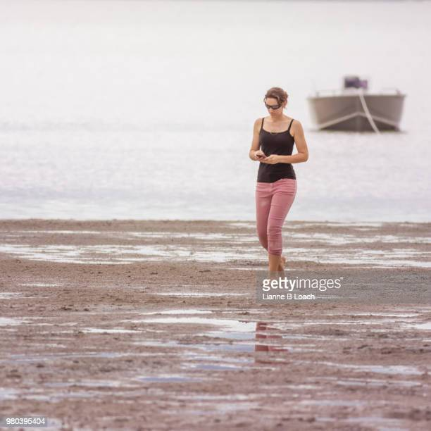 beach walk 13 - lianne loach stock pictures, royalty-free photos & images