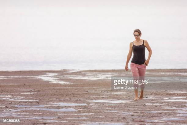beach walk 19 - lianne loach stock pictures, royalty-free photos & images
