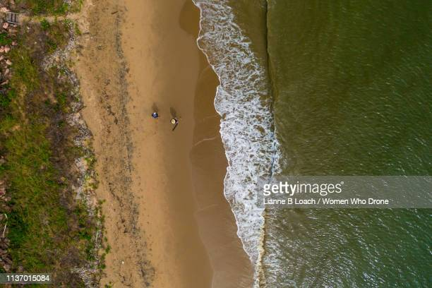 beach waves - lianne loach stock pictures, royalty-free photos & images