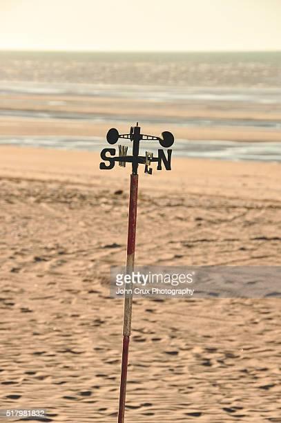 Beach wind compass