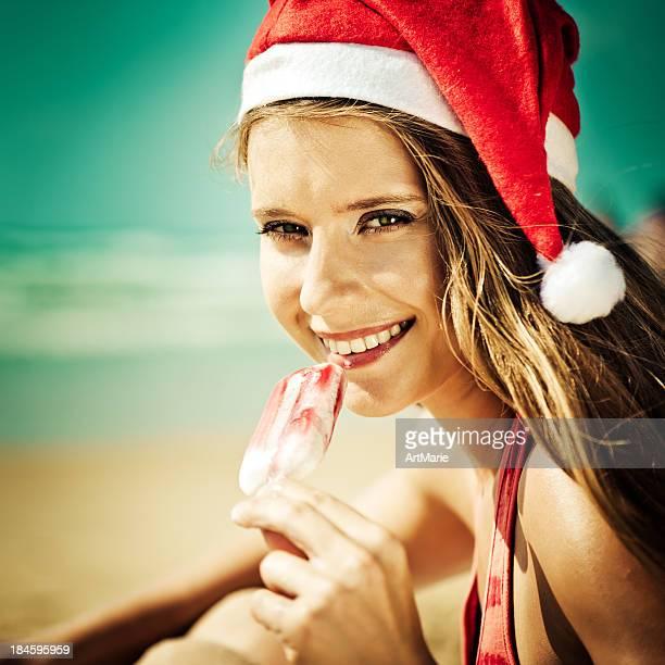 Strand Weihnachten