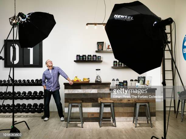 Beachbody cofounder and CEO Carl Daikeler is photographed for Forbes Magazine on March 20 2018 in Van Nuys California CREDIT MUST READ Ethan...