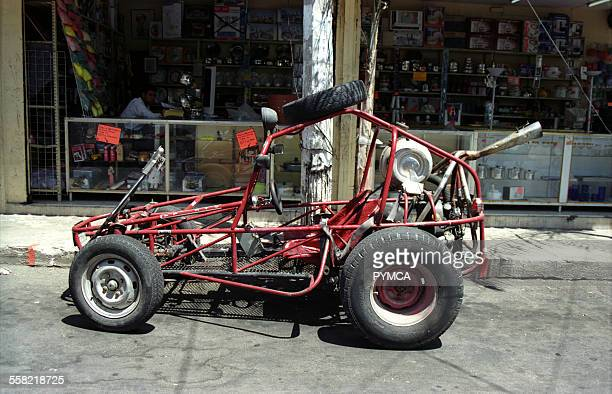 Beachbuggy parked on the street Mexico 2000s
