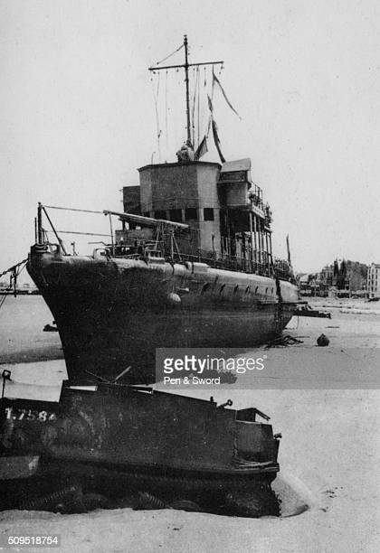 Beached Fisher Boat at Dunkirk France