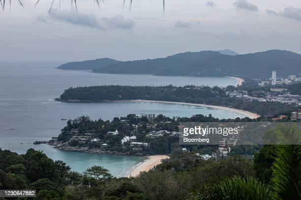 Beaches in Phuket, Thailand, on Sunday, Dec. 20, 2020. The tepid response to Thailands highly publicized reopening illustrates the difficulties...
