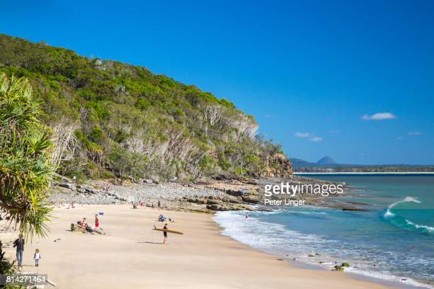 Beaches in the Noosa National Park,Queensland,Australia