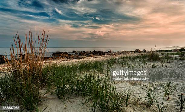 beaches of ri - rhode island stock pictures, royalty-free photos & images