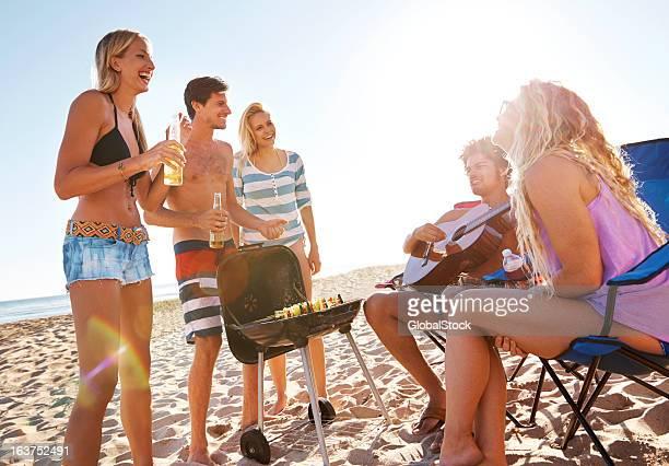Beachfront gatherings