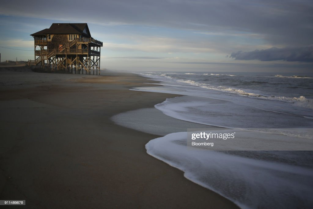 NC: Views Of The Outer Banks As Trump's Offshore Oil Plan Faces Opposition on All Coasts