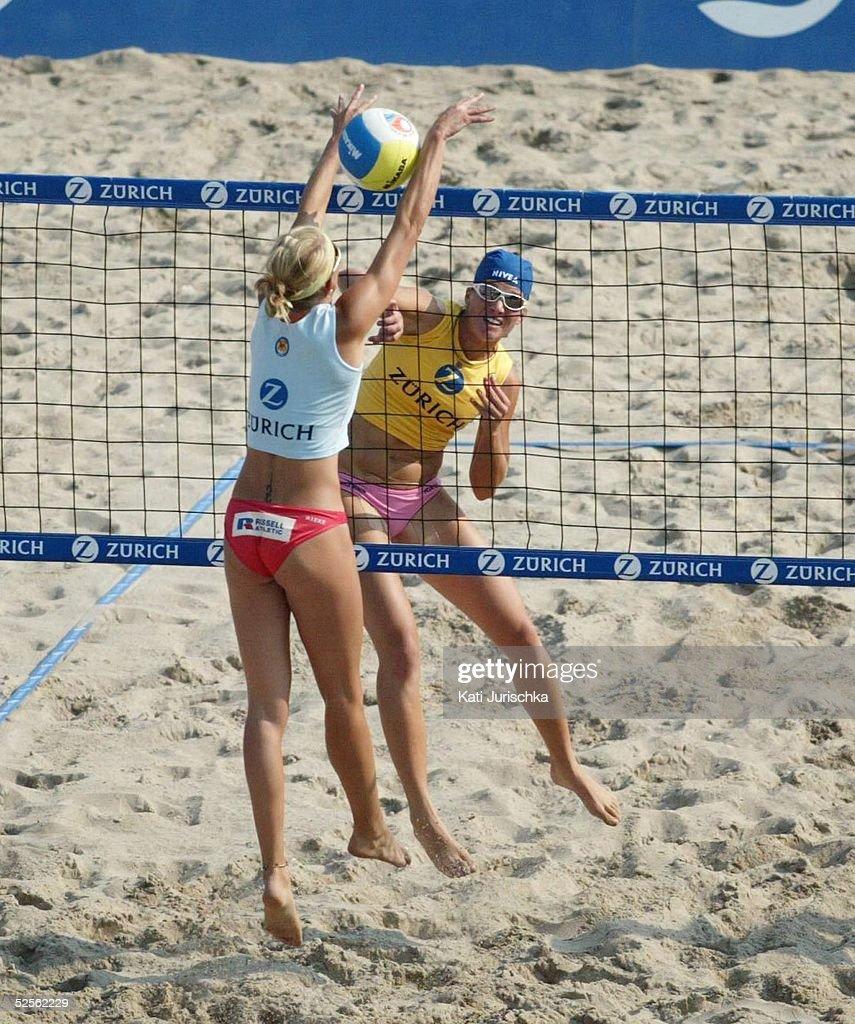 Beachvolleyball: Deutsche Meisterschaften 2004 : Nachrichtenfoto