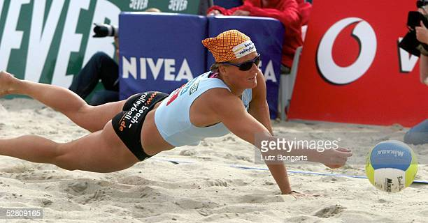 Beachvolleyball DM 2003 Timmendorf 230803 Frauen Ines PIANKA