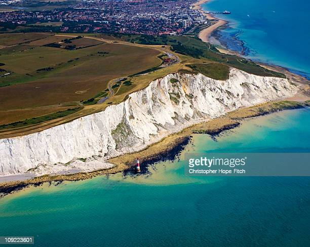 Beachy Head Aerial View