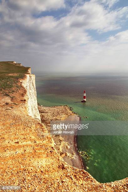 Beachy Head and South downs limestone cliffs