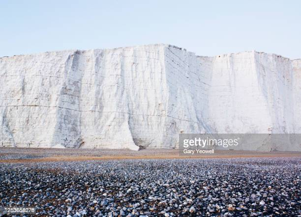 beachy head chalk cliffs - landscape scenery stock pictures, royalty-free photos & images