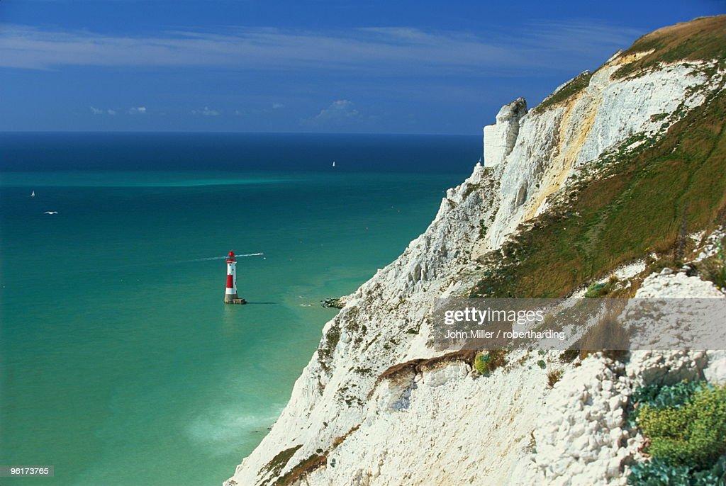 Beachy Head, East Sussex, England, United Kingdom, Europe : Stock Photo
