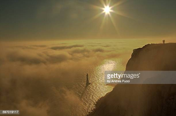 beachy head, east sussex, united kingdom - beachy head stock photos and pictures