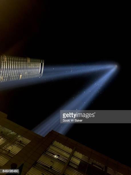 9/11 Beacon of Light From Lower Manhattan