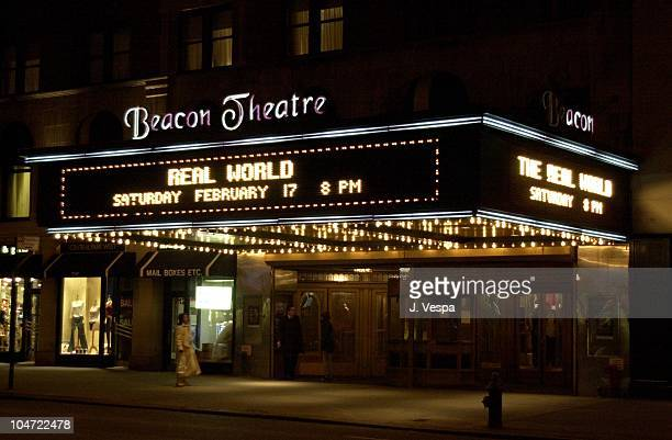 Beacon Theatre during The Real World Reunion Tour in New York City New York United States