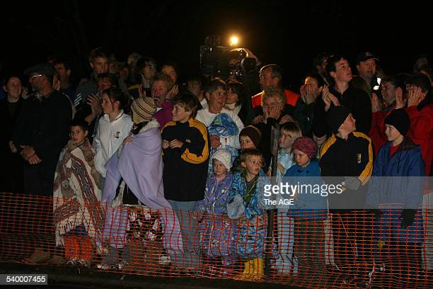 Beaconsfield Mine 2006 A crowd gathers outside the Beaconsfield Mine as two trapped miners Brant Webb and Todd Russell remain trapped nearly one...