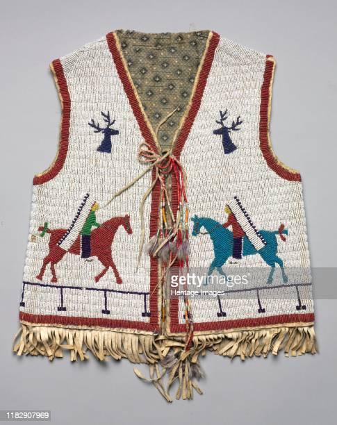 Beaded Child's Vest, circa 1890-1900. Creator Unknown.