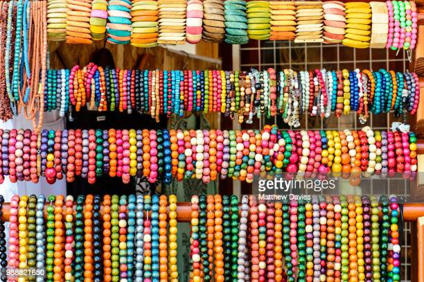 beads for sale in sozopol - bead stock pictures, royalty-free photos & images