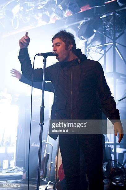 Beady Eye die britische Rockband mit Saenger Liam Gallagher bei einem Konzert im Uebel und Gefaehrlich in Hamburg