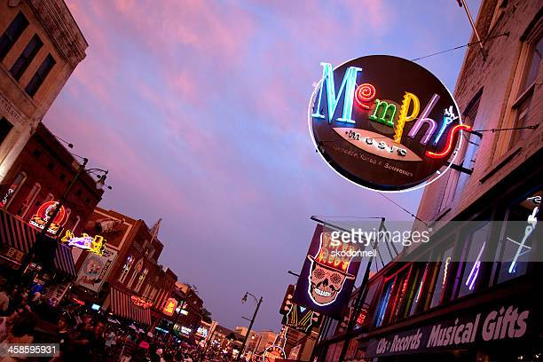 Beale Street Downtown Memphis Tennesse