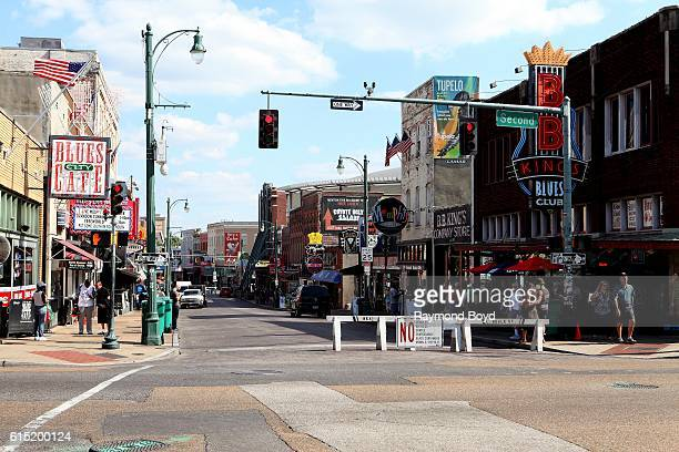 Beale Street in Memphis Tennessee on October 3 2016