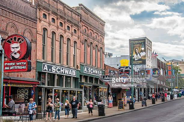 beale street - beale street stock pictures, royalty-free photos & images