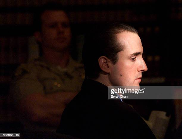 A beam of sunlight hits defendant Ryan Hoyt during his sentencing hearing in Santa Barbara County Superior Court Friday He was sentenced to death for...
