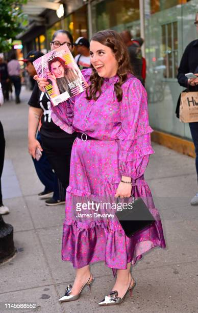 Beanie Feldstein arrives to Times Talks presents ÒBooksmartÓ Screening and Talk at Iris and B. Gerald Cantor Film Center at NYU on May 22, 2019 in...